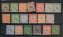 NEGRI SEMBILAN 1935 Definitives. Set of 19. - 20460 - Mint