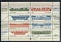 RUSSIA 1985 Railway Locomotives and Rolling Stock. Miniature sheet. - 20472 - UHM