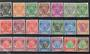 PAHANG 1950 Definitives. Set of 21. - 20476 - Mint