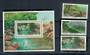 SOUTH AFRICA 1992 Environmental Conservation. Set of 3 plus miniature sheet issued by the Philatelic Foundation. See note in SG.