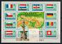 HUNGARY 1977 30th Anniversary of the Re-establishment of Danube Commission. Miniature sheet. - 20480 - UHM