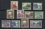 NORFOLK ISLAND 1953-1959 Complete run of definitives and commemoratives excluding the varieties of the 1956. - 20507 - Mint