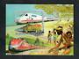 BURKINA FASO 1985 Trains. Miniature sheet. - 20509 - UHM