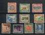 NIUE 1950 Definitives. Set of 10. - 20513 - FU