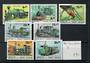 GUINEA-BISSAU 1984 Trains. Set of 7. - 20514 - UHM