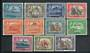 ADEN 1951 Geo 6th Definitives. Set of 11. - 20529 - Mint