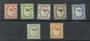 LABUAN 1892 Victoria 1st Definitives. No Watermark. Set of 7. - 20555 - Mint