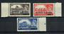 BAHRAIN 1955 Definitives. Set of 3. Icludes SG 95a. - 20556 - UHM