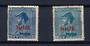 NIUE 1927-1928 Geo 5th Admirals. Jones paper Deep Blue and the Cowan paper Light Blue. - 20564 - Mint