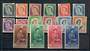 NEW ZEALAND 1953 Elizabeth 2nd Definitives. Set of 16. - 20615 - UHM