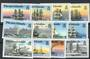 PITCAIRN ISLANDS 1988 Ships. Set of 12. - 20618 - UHM