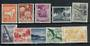 CHRISTMAS ISLAND 1963 Definitives. Set of 10. - 20636 - UHM
