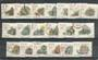SOUTH AFRICA 1988 Definitives Succulents. Set of 18 and the extra stamp issued on 1/4/93. - 20754 - VFU