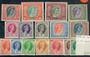 RHODESIA & NYASALAND 1954 Elizabeth 2nd Definitives. Set of 16. - 20755 - UHM