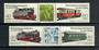 EAST GERMANY 1984 Narrow Guage Railways. Fourth series. Set of 4 in joined pairs with centre labels. - 20796 - UHM