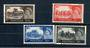 GREAT BRITAIN 1967 Elizabeth 2nd Definitives. High values. No watermark. Set of 4. - 20808 - UHM