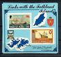 ISLE OF MAN 1984 Links with the Falkland Islands. Miniature sheet. - 20814 - UHM
