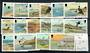 ISLE OF MAN 1983 Definitives Birds. Set of 16. Complete for the theme. - 20816 - UHM