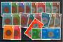 GUERNSEY 1979 Definitives Coins. Set of 21 to the £2. All of the Coins. - 20855 - UHM