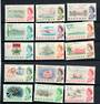BAHAMAS 1965 Elizabeth 2nd Definitives. Set of 15. - 20886 - UHM