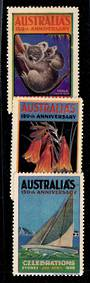 AUSTRALIA Selection of Cinderellas. - 20920 - Cinderellas