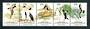 AUSTRALIAN ANTARCTIC TERRITORY 1983 Regioal Wildlife. Strip of 5. - 20924 - UHM