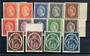 ST VINCENT 1955 Elizabeth 2nd Definitives. Set of 12 plus SG 189a and 198a (colour varieties). - 20947 - UHM