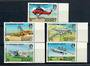 ALDERNEY 1985 Aeroplanes. Set of 5. - 20954 - UHM