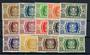 WALLIS and FUTANA ISLANDS 1944 Free-French Administration. Set of 14. - 20966 - LHM