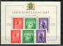 ICELAND 1938 Leif Eiricsson's Day. Set of 3 and miniature sheet. - 20970 - UHM