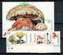 LESOTHO 1998 Fungi. Set of 6 and miniature sheet. - 20977 - UHM
