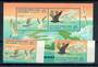 COCOS (KEELING) ISLANDS 1995 Sea-Birds of North Keeling Island. Set of 2 and miniature sheet. - 20983 - UHM