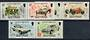 COCOS (KEELING) ISLANDS 1995 Sea-Birds of North Keeling Island. Set of 2 and miniature sheet on first day cover. - 20984 - UHM