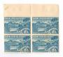 NEW ZEALAND 1898 Pictorial 2½d Pale Blue. London Print. No Watermark. Block of 4. Hinged on the selvedge. - 20991 - UHM