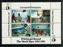 NEW ZEALAND 1989 Whitbread Round the World Race. Miniature sheet. - 21029 - Cinderellas