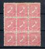 NEW ZEALAND 1923 Definitive 1d Map on Cowan Unsurfaced Paper. Block of 9 in excellent never hinged condition. - 21030 - UHM