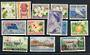 COOK ISLANDS 1967 Definitives. Simplified set of 12 values. Scott 179-191. $US 30.15. - 21089 - LHM