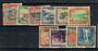 NIUE 1950 Definitive Set of 10. Scott 94-103 $US 6.40. - 21113 - FU