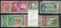 PITCAIRN ISLANDS 1948 George 6th Definitives. Set of 10. - 21119 - LHM