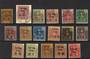 FRENCH POs in CHUNGKING 1906 Definitives. Set of 17. LHM and used. - 21144 - Mixed