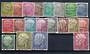 WEST GERMANY 1954 Definitives. Set of 20. All postally used FU/GU. - 21170 - Used