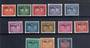 TRIESTEZone A ALLIED MILITARY GOVERNMENT 1949 Postage Due. Set of 13. - 21178 - Mint
