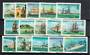 TURKS & CAICOS ISLANDS 1983 Ships. Definitive set of 15. Perf 14. - 21179 - UHM