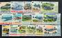 NORFOLK ISLAND 1980 Definitives Aeroplanes. Set of 16. - 21184 - UHM