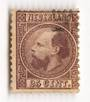 NETHERLANDS 1867 Definitive 25c purple. Perf 12½ x 12. Centred to right. Good perfs. - 21205 - FU