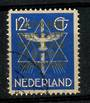 NETHERLANDS 1934 International Court of Justice 12½c Ultramarine. Well-centred and good perfs. - 21260 - VFU