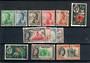 FIJI 1959 Definitives. Set of 13. Scott 163-175 $US 42.80 - 21270 - FU