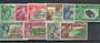 PITCAIRN ISLANDS 1940 Geo 6th Definitives. Set of 10. Scott 1-8 $US 25.80. - 21271 - FU