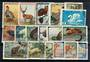 RUSSIA 1957 Wildlife. Set of 18. Includes the three values issued in 1961. - 21327 - FU