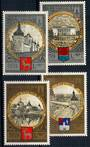 RUSSIA 1978 Olympics Tourism around the Golden Ring. Third series. Set of 4. - 21333 - UHM
